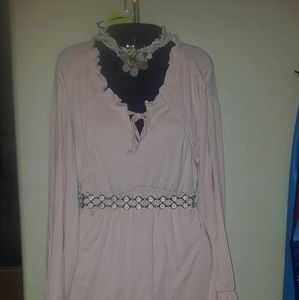 Soft Pink Blouse New